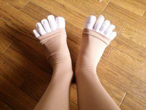 足指をガード